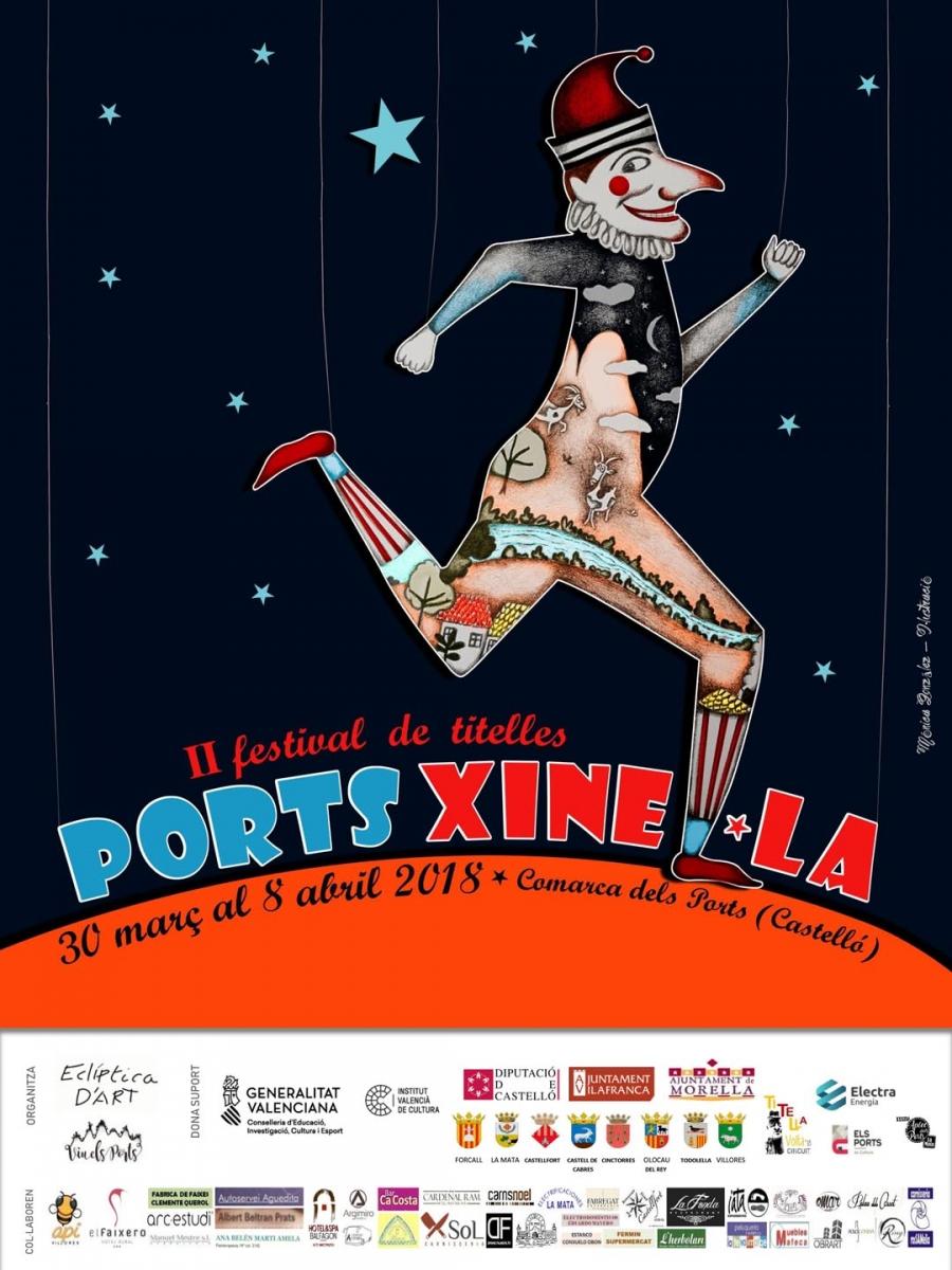 Cartel II Festival de Titelles Portsxinel·la 2018